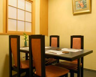 寿司 髙はし - 個室もございます。