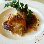 ラ・コリンヌ - ほろほろ鶏のコンフィ