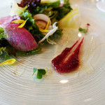 ラ・コリンヌ - 前菜サラダカブソース