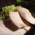 カフェ インビー - 鶏の塩麹蒸し