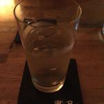 樹's bar - 越百の水割