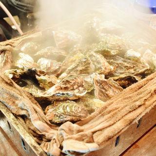 【焼き牡蠣】ガンガン焼き¥2,980(税抜)