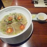 43992337 - 「スペシャルランチセット」(1580円)メイン料理「活あさり麺」