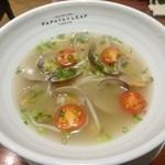43992345 - 「スペシャルランチセット」(1580円)メイン料理「活あさり麺」