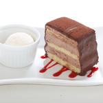 アンジュ - チョコビターケーキ