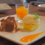 ブルーガーデン - ランチ:デザート盛り合わせ