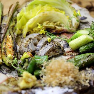【新鮮食材】全国から取り寄せる旬の野菜