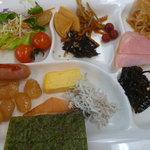 サンレイク草木 - 朝食バイキング