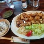 43996489 - 生姜焼き 1300円、ご飯(普通)200円、味噌汁50円