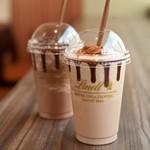 リンツ ショコラ カフェ - 「リンツ アイスチョコレート ドリンク」