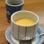 Yahiromarunishikikou - ランチについてきた茶碗蒸し