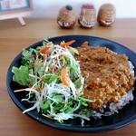 MOKU cafe - キーマカレー