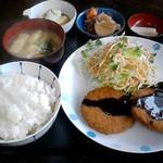 めん福 - 日替定食(メンチカツ)