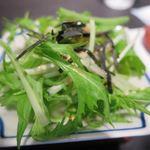 風雅すたいる カフェ - サラダ_2015/10