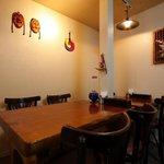 韓国家庭料理 大久保刺身 ジュンイネ - 2F:他店と比べ広々としていたのでゆっくりお料理が楽しめました!