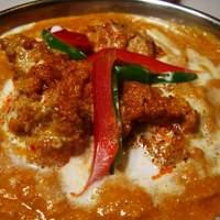 インドレストラン Shama - 食感が楽しいソイティッカカレー ¥1000