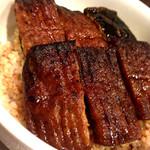 *精進うなぎの蒲焼き玄米丼