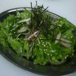 城東ホルモン - 実は人気の高いチョレギサラダ