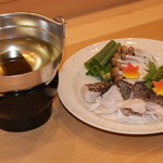 すし屋の中川 - クエ鍋