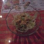 アシルワード - セットのサラダ