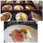 44005054 - 最初にメインを「和食」「洋食」からチョイスします。                       「和食」を頂くつもりでしたが「鯖」でしたので「洋食」にしました。