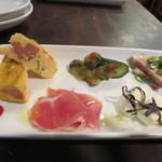 創作バール tamburo - 前菜5種盛り