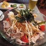 創作バール tamburo - 豚しゃぶ大根サラダ