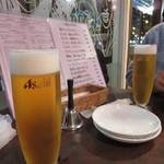 創作バール tamburo - ビール