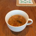 カフェ&キッチン yy - ランチスープ①
