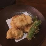 旬の味 菜々せ - 白子の天ぷら