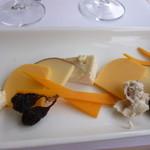 44006521 - チーズと生ハム