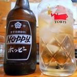 とりしん一 - ホッピー(ナカ・ソト)¥220