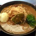 瀬戸内製麺710 - ひやあつとり玉天カレーうどん(H27.10.31)