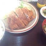 とんかつ和幸 - 豚ロースかつ700円