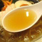 彩蓮 - すっきりとした上品なスープ!(2015,10/27)