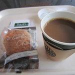 タリーズコーヒー - 本日のコーヒーとクッキーシュー