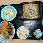 くいどころ里味 - 天丼、蕎麦セット