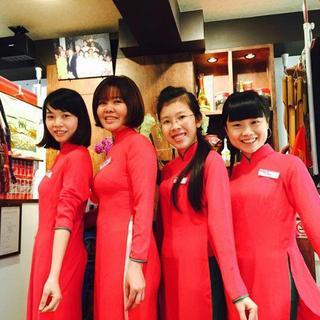 ★店内はベトナムの雰囲気にあふれています。