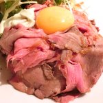 44012367 - ローストビーフ丼 900円