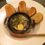 44013358 - 旬の野菜と秋刀魚のアヒージョ