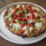 パルゴロ - ピッツァ 青トマトとキャロルトマトのマルゲリータ