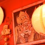 肘鉄 - インドネシアの絵