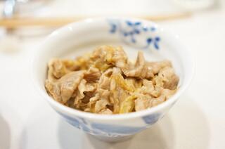 かわむら - 牛丼