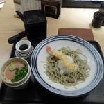 江戸せいろう蕎麦 - 朝食天おろしそば750円すぐに蕎麦湯が来ました