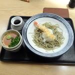 江戸せいろう蕎麦 - 朝食天おろしそば750円