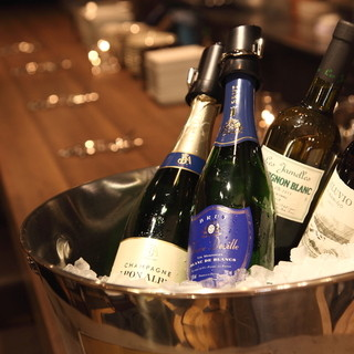 火曜日はボトルワインが全品20%オフ