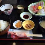 夕日レストラン - お刺身定食