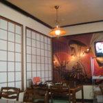 小町園 - 小野小町の壁画が綺麗です