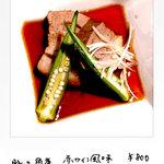 WINE&DINING ポルコロッソ - 豚の角煮(赤ワイン風味)800円 6時間煮込んだトロけるお肉です。