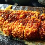 レストラン 朱鷺 - とんかつ定食